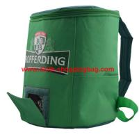 Quality Eco - friendly Cylindrical polyester insulated travel cooler bag for picnic wholesale