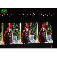 Quality Video Mobile LED Indoor Advertising Screens , LED Video Wall Panels 4mm Pixels wholesale