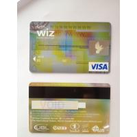 Black hico magstripe visa smart gold card of hbl bank card ISO standard