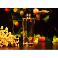Quality Long Round Glass Perfume Bottles For Personal Care / Home Decor , 140ml wholesale