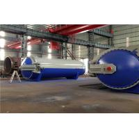 Quality Pneumatic Laminated Vulcanizing Autoclave , Pressure In Autoclave By PLC Controller wholesale