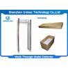 Buy cheap 33 Zones Airport Security Detectors , Arch Metal Detector Door Frame With 10 Type Alarm Tones from wholesalers