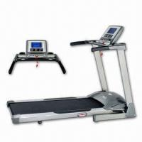 China 2.5hp Treadmill with 18mm Deck Thickness and 0 to 12% Elevation on sale