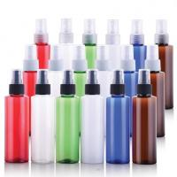 China Round Pet Spray Bottle , Cosmetic Dispensing Empty Perfume Spray Bottles on sale