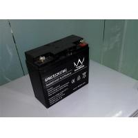 Quality Electric scooter / Inverter Rechargeable Sealed Lead Acid Battery 12v 17ah 6FM17H wholesale
