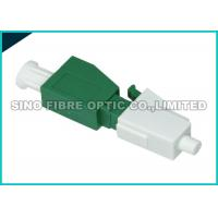 Quality Green Plug In Attenuator 5dB , LC-APC Port Single Mode Fiber Attenuator wholesale