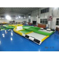 Quality Giant Zorb Collision Track / Inflatable Zor Ball Track For Sport Games wholesale