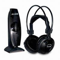 Quality UHF 863MHz Wireless Headphones with Built-in Battery and Speakers, Transmitter wholesale