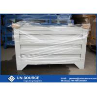 Buy cheap Material Handling Metal Pallet Boxes With Wheels , Stackable Pallet Cages Turnover Box from wholesalers