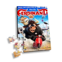 Quality Lenticular Printing 3d Puzzle With Movie Characters or Flip Jigsaw Children Family Games Educational Toy 3D Jigsaw Puzzl wholesale