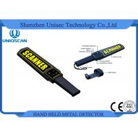 Quality MD3003B1 Super Scanner Handheld Metal Detector Certificated with CE / ISO Pakistan wholesale