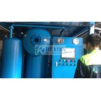 Quality Fully Enclosed Type Double Stage High Vacuum Dielectric Oil Purification Machine 9000Liters/Hour wholesale