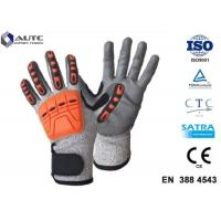 Quality Prosafe Hand Protection Gloves , Nitrile Protective Gloves Shock Absorption wholesale