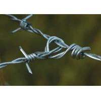 Cheap Solid Sharp Razor Barbed Wire Fence , Barbed Wire Cattle Fence For Agriculture for sale