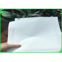 Cheap 1.2g to 1.5g RBD RPD SPN Jumbo Roll Paper Two Side Coated Flame Resitant for sale