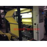 Cheap Adhesive Label Paper Comma Coating Machine With Solvent Glue for sale