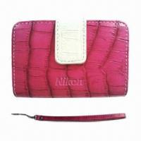 Quality Camera Bag for Nikon, Made of PU Crocodile Leather, OEM Orders are Welcome wholesale