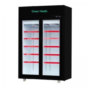 China Supermarket Upright Freezer with Glass Doors Freezer on Wheels Blast Freezer on sale