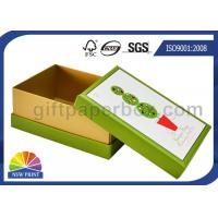China Diamond Decorated CCNB Paper Gift Box / Soap Packaging Box For Christmas Promotion on sale