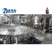 China Sparking Water / Gas Beverage Carbonated Drink Filling Machine Full Automatic on sale