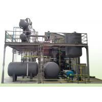 Cheap Waste Black Oil to Yellow Oil Vacuum Distillation Equipment Motor Oil Purification and Recycling for sale