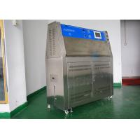 Quality ASTM Standard UV Accelerated Aging Test Chamber With Programmable Controller wholesale