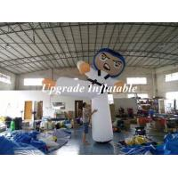 Quality Customized 3m H Inflatable Taekwondo/ Inflatable Warror/ Inflatable Karate Mascot For Advertising wholesale