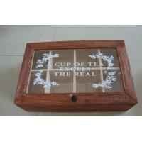 Quality wooden tea box wholesale