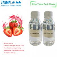 Quality Hot sale high quality high concentrate VG based Strawberry flavor liquid for vape wholesale