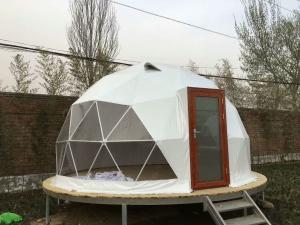 Quality Transparent Luxury Steel Camping 5M Geodesic Dome Tent wholesale