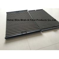 Quality Corrugated Pinnacle Shale Shaker Screen , Single Handler Oil Vibrating Screen wholesale