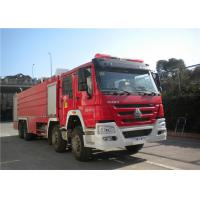 Quality Darley Pump International Fire Truck , Lengthen Cab Fire Fighting Vehicles wholesale