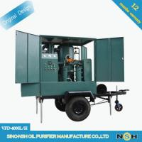 Quality Double Stages Vacuum Transformer Oil Testing Equipment Transformer Oil Purifier wholesale
