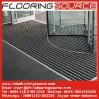 China Commercial Building Aluminium Entrance Mats Outdoor Aluminum Mats Recessed Mats Architectural Entrance Area Mats on sale