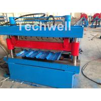 Quality Roof / Wall Panel Double Deck Roll Forming Machine , Double Layer Roll Former wholesale