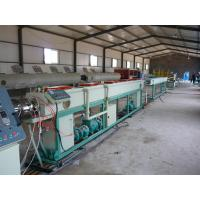Buy cheap PE solid wall pipe production line extrusion machine manufacturing for sale made from wholesalers