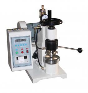 Quality High Pressure Paper Testing Equipments , Manual Bursting Strength Tester wholesale