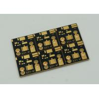 Quality 1 Layer Copper Clad PCB Board For High Power Led Lights Gold Finish wholesale