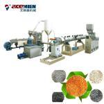 Quality Double Stages PET Pelletizing Machine , Plastic Bottle Granulator Extruder wholesale