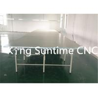 Quality Garment Cutting Auxiliary Equipment Industrial Cutting Tables For Fabric With High Density Board wholesale