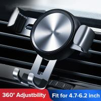 Quality car vent phone holder  Automatic Clamping Wireless adjustable cell phone holder for car air vent wholesale