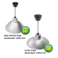 Cheap 30Watt low canopy Led Low bay light with glare shield low bay fixture double angle 60° 110° for sale