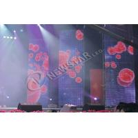 High Power Stage Curtain LED Display Rental , p10 Indoor Led Display Screen