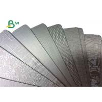 Laminated metalized paper board