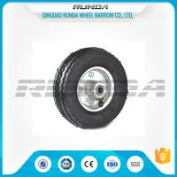 Quality Bent Valves Pneumatic Rubber Wheels 6 Inches Roller Bearing For Hand Trolley wholesale