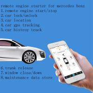 China Remote Engine Starter  Car Engine Lock From Smartphone Engine Lock/unlock By App Car Alarm GPS Tracking Worldwide on sale
