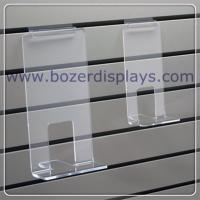 Clear Acrylic Face Out Book Shelf for Slatwall for sale