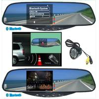 China Car Electronics Products Tft Bluetooth Handsfree Kit Stereo Handsfree Rearview Mirror on sale