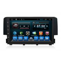 Quality 2Din Quad Core Honda Civic Navigation System With 3G Radio Wifi wholesale