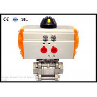 Quality Anodized Aluminum Air Operated Valve Actuators Rack And Pinion Pneumatic Actuator wholesale